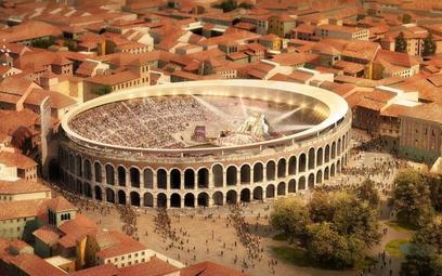 Arena w Weronie będzie miała dach