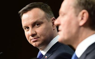 Sondaż prezydencki. Donald Tusk wygrywa z Andrzejem Dudą