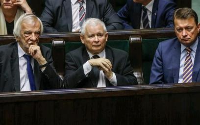 Ryszard Terlecki, Jarosław Kaczyński i Mariusz Błaszczak – wszyscy ci liderzy PiS wypowiadali się os