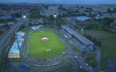 Kilkunastotysięczny stadion został wybudowany z okazji dożynek centralnych, które organizowano w Ols