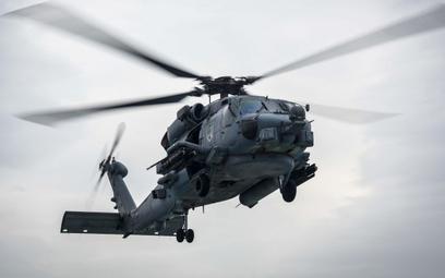 Wielozadaniowy śmigłowiec morski Sikorsky MH-60R Seahawk .Fot. US Navy/Mass Communication Specialist