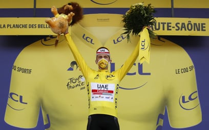 Tadej Pogacar wygrał Tour de France