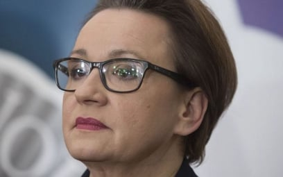 """Czy minister Zalewska """"została zniknięta""""?"""