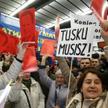 Problem z przewidywaniem planów Tuska jest taki, że on już właśnie nic nie musi (na zdjęciu zwolenni