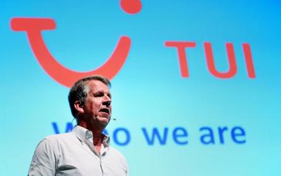 Prezes TUI Group Fritz Joussen zadowolony jest ze wzrostu sprzedaży w internecie.