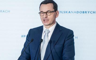Premier Mateusz Morawiecki mówił o szansach dla gospodarki