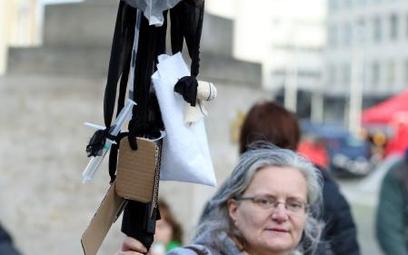 Demonstracja bezrobotnych w Brukseli, wiosna 2016 r.