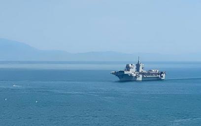 Największy włoski okręt rozpoczął próby morskie