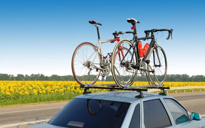 Rower z dachu: groźna sytuacja na autostradzie A1
