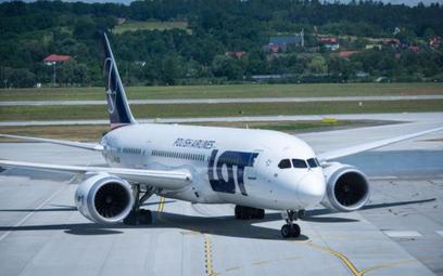 LOT będzie więcej latał z Krakowa do USA
