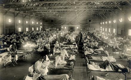 Szpital w Camp Funston, Kansas