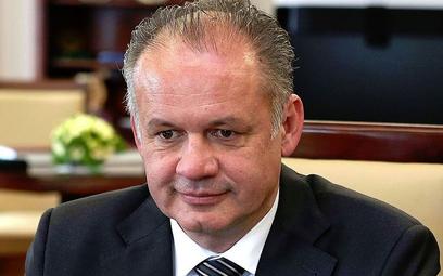 Słowacja: Prezydent oskarża rząd o chronienie przestępców