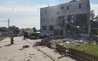 Trzy osoby zostały ranne w wybuchu butli z gazem w bloku w miejscowości Safronka niedaleko Nidzicy.
