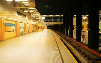 Stacja metra Warszawa Centrum