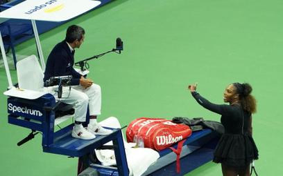 Żukowski o finale US Open: Histeryczka i konduktor