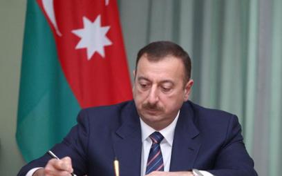 Prezydent Azerbejdżanu Ilhama Alijew