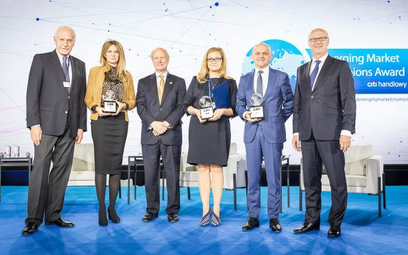 Nagrody Emerging Market Champions trafiają do firm, które nie boją się wyzwań iinwestowania poza sw