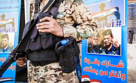 Irackie siły bezpieczeństwa zatrzymały dżihadystę w czasie, gdy w kraju trwały wybory