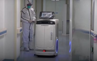 Robot w jednym z chińskich szpitali