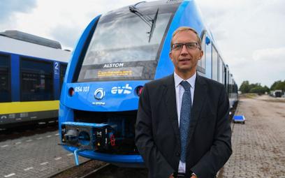 Henri Poupart-Lafarge, dyrektor generalny Alstom