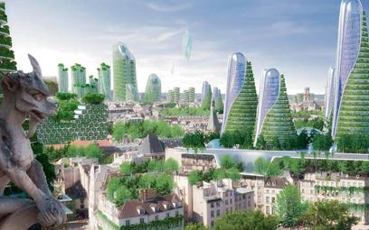 Nowoczesny Paryż w 2050 roku ma być ultraekolo- -gicznym miastem pełnym zieleni i nowych technologii