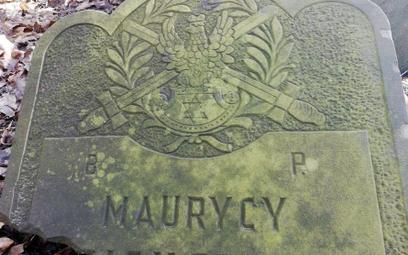 Nagrobek weterana wojny polsko-bolszewickiej na cmentarzu żydowskim