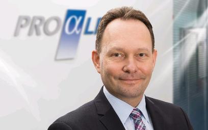 Paweł Orzeszko, członek zarządu proALPHA
