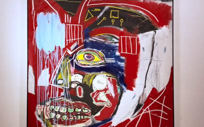 Słynny obraz Basquiata sprzedany. Rekordowa kwota