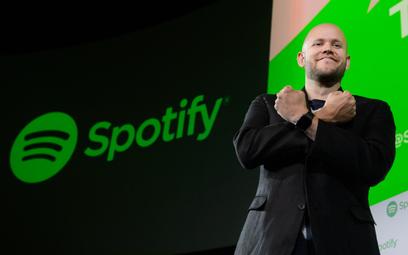Współzałożyciel i prezes Spotify Daniel Ek.
