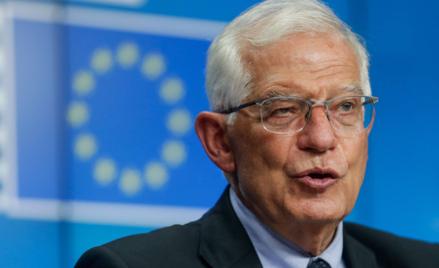 Josep Borrell, szefy unijnej dyplomacji
