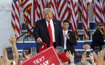 Donald Trump na wiecu: Wygraliśmy wybory dwa razy, może będzie trzeci