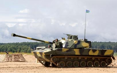 120 mm armatomoździerz samobieżny 2S42 Łotos. Fot./CNIITOCZMASZ.