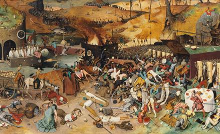 """""""Triumf śmierci"""", obraz Pietera Bruegla starszego zok. 1562 r."""