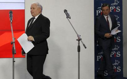 Sondaż: PiS prawie 40 proc., Solidarna Polska i Porozumienie - 3 proc.