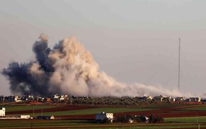 Turecka artyleria ostrzeliwuje siły Asada w Syrii