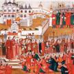 Wmarcu 1613 r. tłum pod monasterem Ipatiewskim błagał Michała Fiodorowicza Romanowa, by zechciał zo
