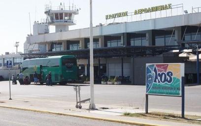 Terminal lotniska na wyspie Kos