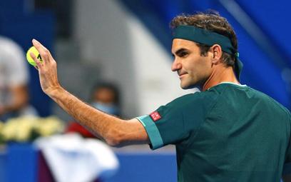 Roger Federer wrócił na kort. Wygrał mecz w Katarze