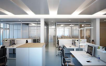 Aranżacja przestrzeni biurowej wpływa na efektywność pracowników