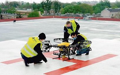 Drony to ważna technologia dla szpitali walczących z Covid-19