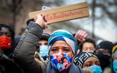 Zamieszki w Brukseli po śmierci 23-latka