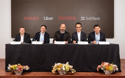Uber dostanie miliard dolarów od Japończyków. Najwięcej zainwestuje Toyota