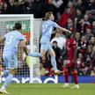 Kevin de Bruyne cieszy się z gola dla Manchesteru City