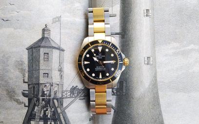 Certina DS Action Diver 38 mm: zegarek od mokrej roboty