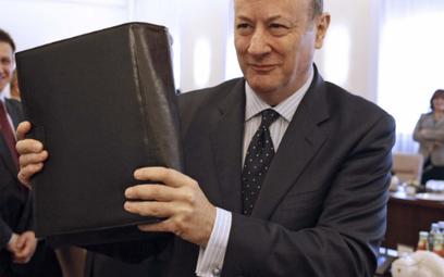 Minister Jacek Rostowski jak Śpiąca Królewna