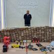Przechwycona kokaina i zatrzymany mężczyzna, podejrzewany o przemyt
