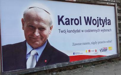 Marek Domagalski o wykorzystaniu wizerunku Karola Wojtyły w kampanii społecznej