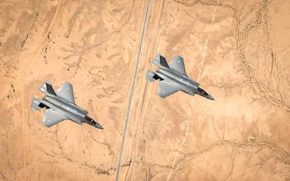 """Amerykańskie i izraelskie F-35A podczas wspólnych ćwiczeń """"Enduring Lightning"""". Fot./Siły Powietrzne"""