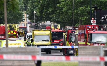 Wielki pożar w Londynie. Moment eksplozji na nagraniu