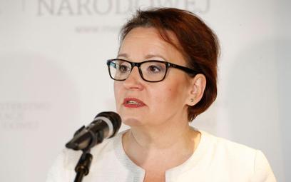 Anna Zalewska o likwidacji gimnazjów: Nie ma oporu